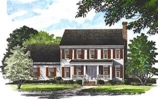 traditional colonial house plans traditional colonial home 32529wp 2nd floor master