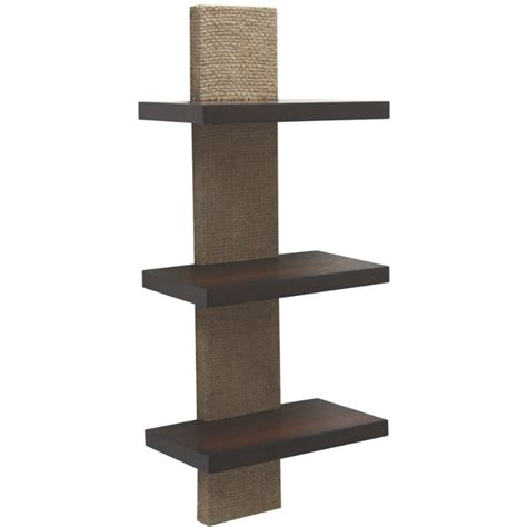 shop style selections 9 5 in wood wall mounted shelving at