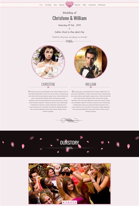 15   Best Wedding Website Design Templates