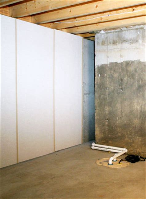 basement insulated wall panels installing basement wall products upgrading your