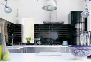 black subway tile kitchen backsplash 30 successful exles of how to add subway tiles in your kitchen freshome