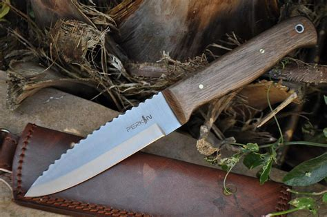 Handmade Bushcraft Knives - handmade bushcraft knife fabulous workmanship perkin