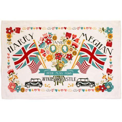 Royal Wedding Congratulation Messages by Harry Meghan Royal Wedding Tea Towel The Present Finder
