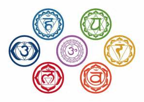 Moon And Stars Wall Stickers 7pcs set chakras vinyl wall stickers mandala yoga om