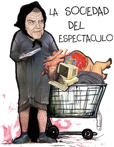 la sociedad del espectaculo by mono estepario media culture cartoon toonpool