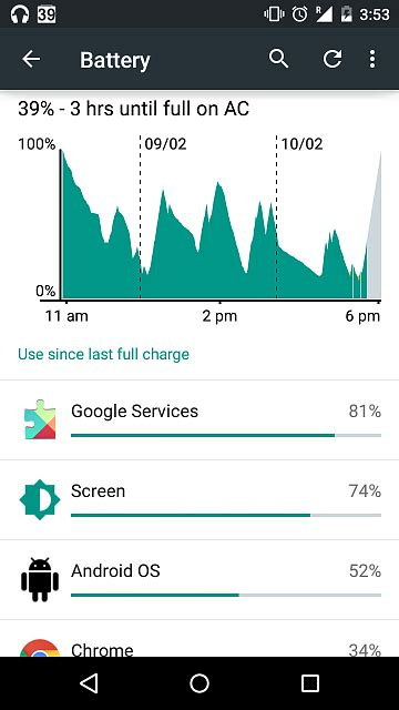 reset android battery usage android os and google play service draining battery in
