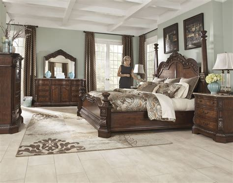 ashley porter king bedroom set bedroom perfect brown ashley bedroom furniture ideas king
