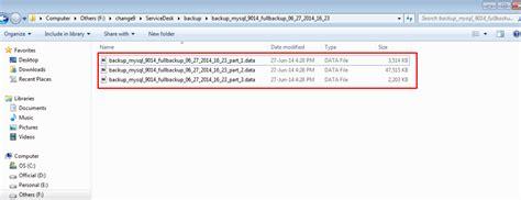 servicedesk data