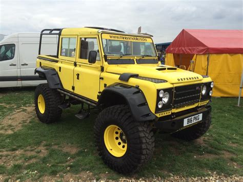 land rover yellow minion the yellow defender 110 jgs 4x4