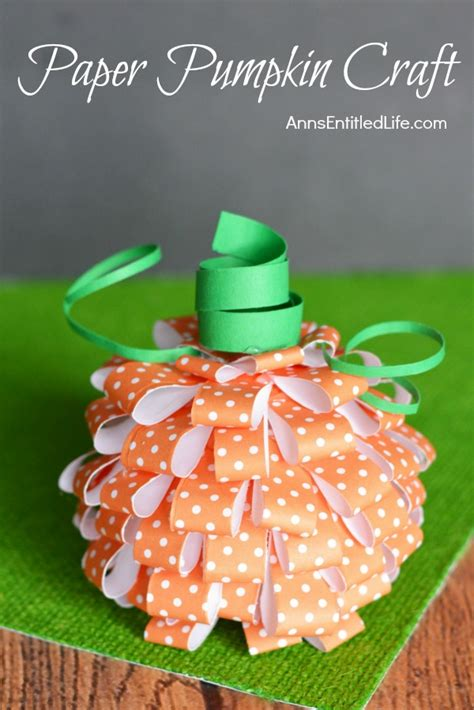 20 awesome fall paper crafts to make today p s i
