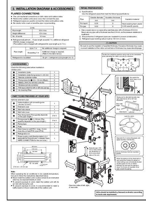 mitsubishi air conditioner wiring diagram wiring