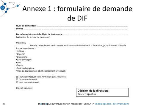 Exemple De Lettre De Demande De Formation Dif Exemple De Formulaire De Demande De Dif