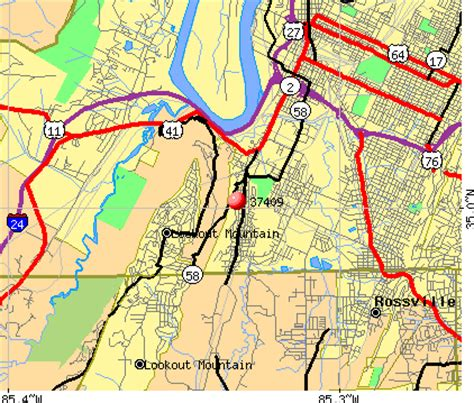 zip code map chattanooga tn 37409 zip code chattanooga tennessee profile homes