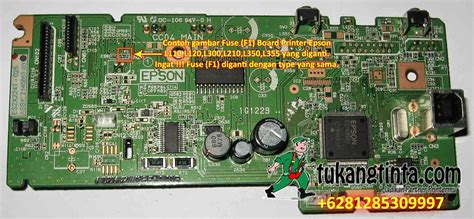Board Printer Epson L120 pusat modifikasi printer infus cara service printer epson