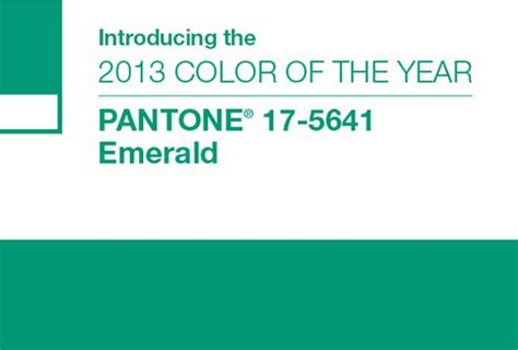 color of the year 2013 emerald pantone color of the year 2013 design and paper