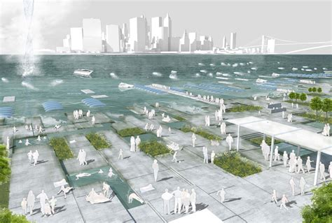 Waterfront Home Design Ideas competition semifinalists water as the 6th borough of