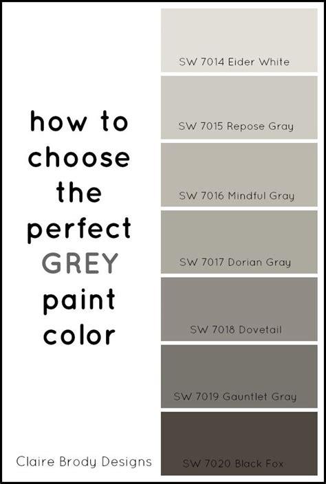 choose  perfect grey paint color paint colors
