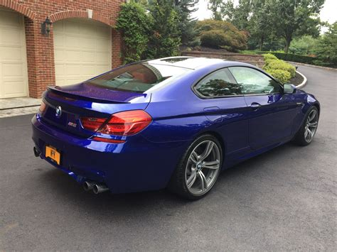Mercedes Lease Payoff by Lease Takeover Loaded 2014 Bmw M6 San Marino Blue Sakhir