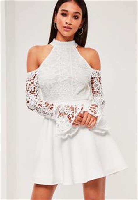 L 936 Transparent Open Front Lace Dresses Black White Missguided Australia