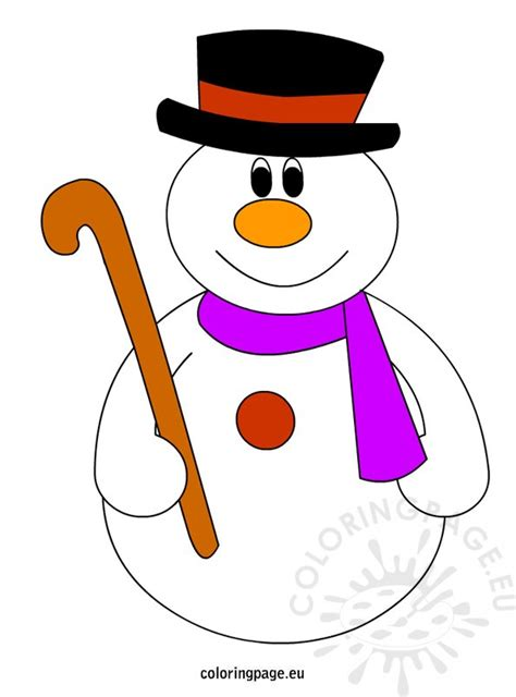 printable free snowman search results for printable snowman hat and scarf