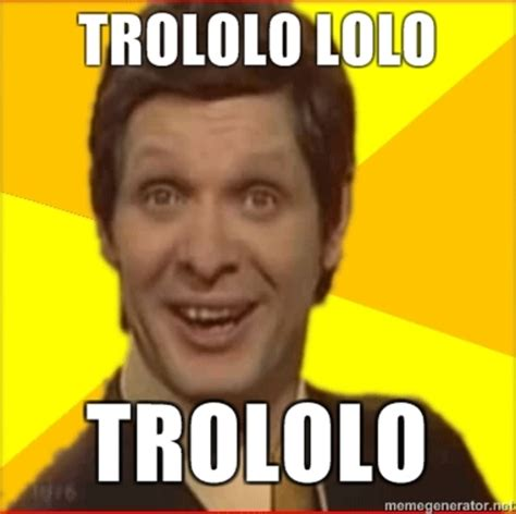 Trololo Meme - trololo man rip