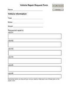 vehicle maintenance form template vehicle maintenance request form fill printable