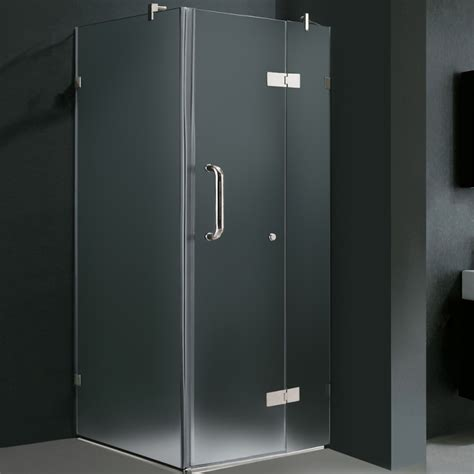 32 Shower Enclosure Vigo 32 X 32 Frameless Frosted Chrome Shower Enclosure Rt