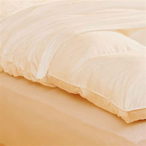 feather bed topper luxe loft featherbed comforter topper for the top of your bed by pacific coast feather