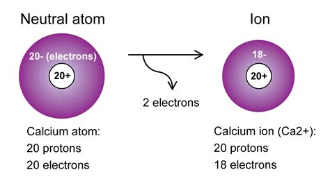 number of protons in calcium calcium atom and ion 171 kaiserscience