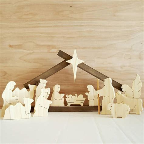 Handmade Wooden Nativity Sets - ultimate list of nativity sets for