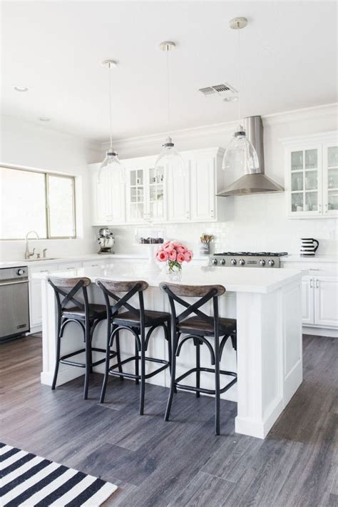 white kitchen cabinets with hardwood floors best 25 wood look tile ideas on porcelain