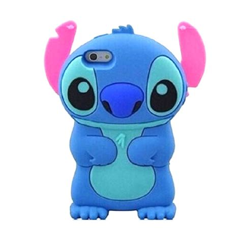 Softcase 3d Karakter Iphone 5 Iphone 6g Iphone 6s jual kartun karakter stitch softcase 3d casing for