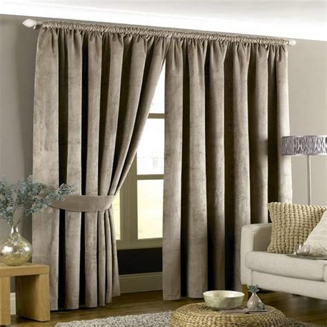 velvet drapery panels lined riva home imperial velvet woven pencil pleat lined