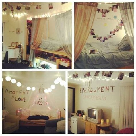 Diy Bedroom Ideas by Cute Diy Dorm Room Decor Ideas College Life Pinterest