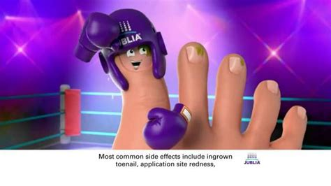 jublia tv spot toe nail fungus arrives on red carpet jublia ad actor newhairstylesformen2014 com