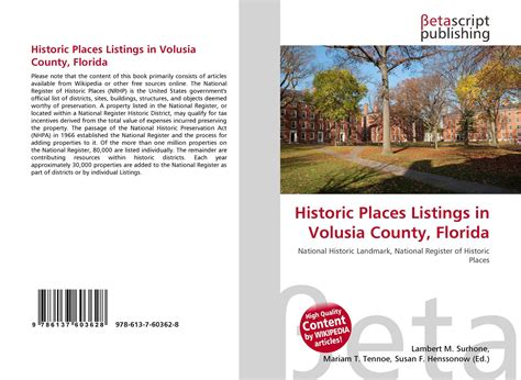 Listing Of Detox Facilities Deltona Fl by Historic Places Listings In Volusia County Florida 978