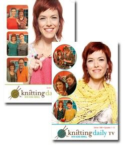 knitting daily tv show knitting daily tv with vickie howell series 1200 and 1300
