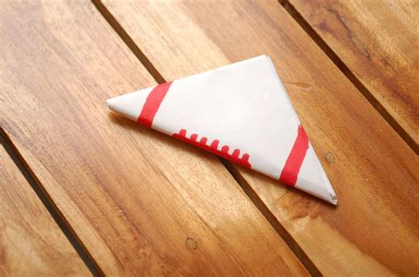 Fold A Paper Football - how to make a paper football
