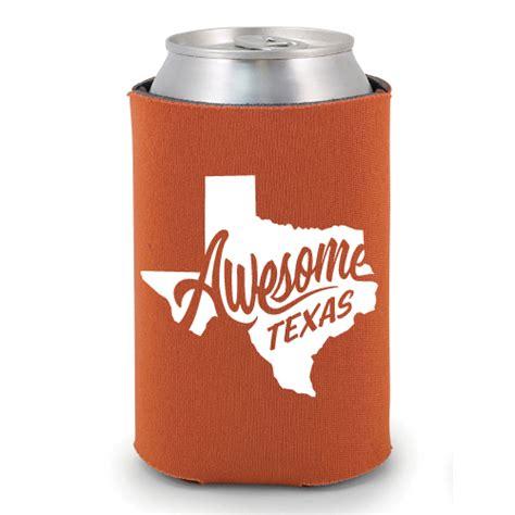 design koozies online awesome texas koozie burnt orange 5807bhbo outhouse