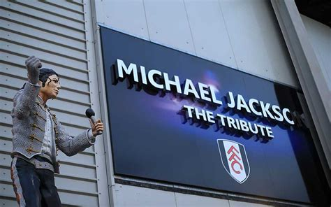 craven cottage michael jackson michael jackson statue removed from outside fulham s