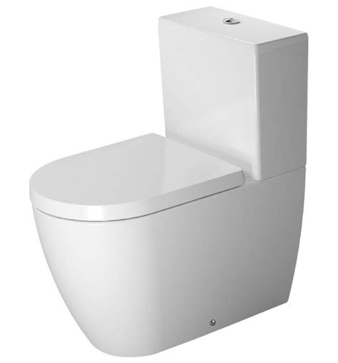 toilette duravit duravit me by starck coupled toilet with cistern