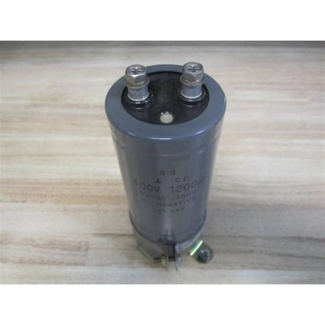 ge surge capacitor gs 68 28w capacitor 6828w 400v 1200uf surge 450v wcl used mara industrial