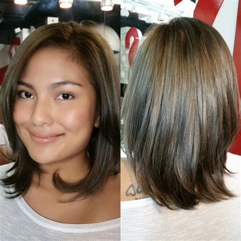 above the shoulder layered hairstyles shoulder grazing haircut with layered ends