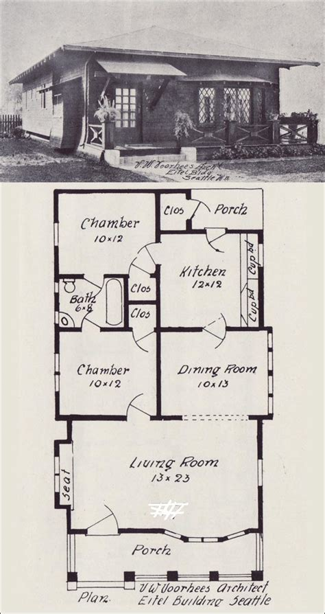 early 1900 house plans early 1900s style house plans