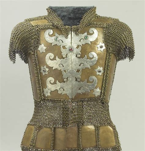 decorative jacket clasps philippines mid 19th century this armoured jacket is of