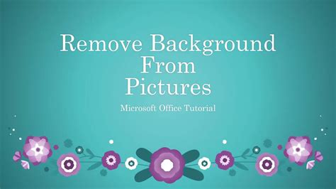 remove background from photo without photoshop a how to guide