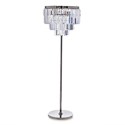 Luxe Crystal Floor Lamp   Z Gallerie