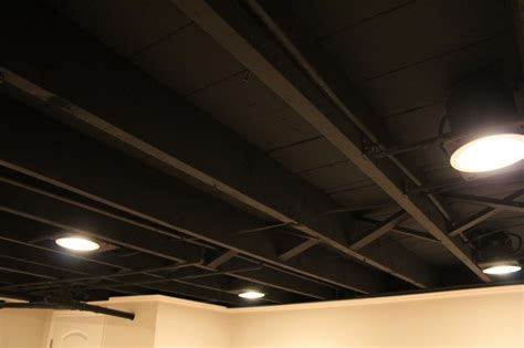 White Mold On Ceiling by Basement Ceiling Tiles Basement Ceiling Installation