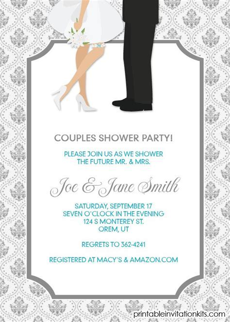 16 best images about Bridal Shower Invitations (free) on