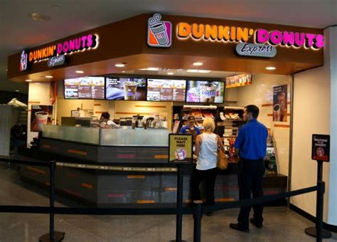 Classic Home Interior by Dunkin Donuts Denver International Airport